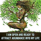 I am open and ready to attact abundance into my life at Reiki 4 Health, www.reiki4health.net