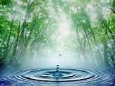 A drop of water and serenity at Reiki 4 Health, www.reiki4health.net