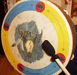 Buffalo Drum Therapy with Reiki Session