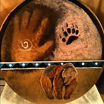 Shamanic Drumming to release blockages from the body, at Reiki 4 Health, www.reiki4health.net