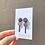 Thumbnail: copper drop earring