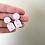 Thumbnail: speckled earring