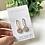 Thumbnail: brass drop earring