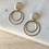 Thumbnail: brass hoop dangle