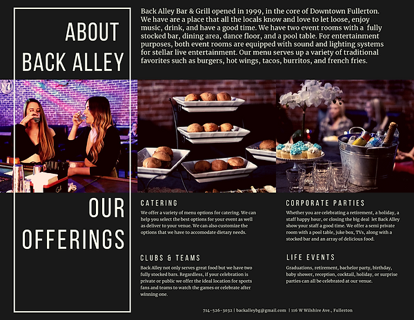 Back Alley Private Party Brochure back.p