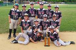 SJ Hawks 11U Baseball Team