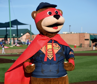 Gateway Grizzlies Superhero Night