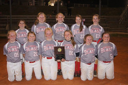 Tennessee Blast 12U Softball