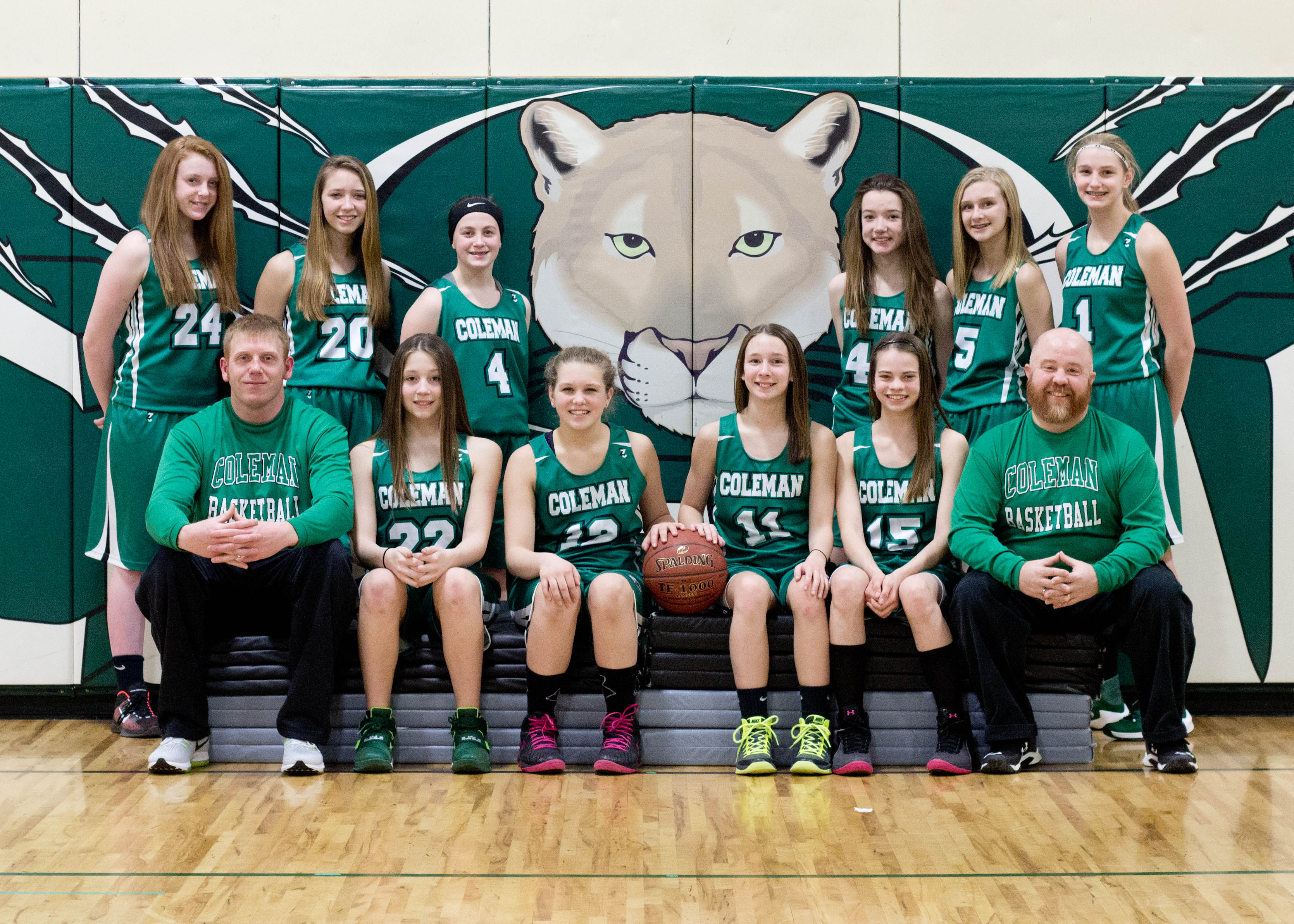 2017 Coleman Girls Basketball