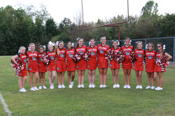 2016 Spring City Middle School Cheerleaders