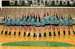 Gettys Middle School Volleyball team