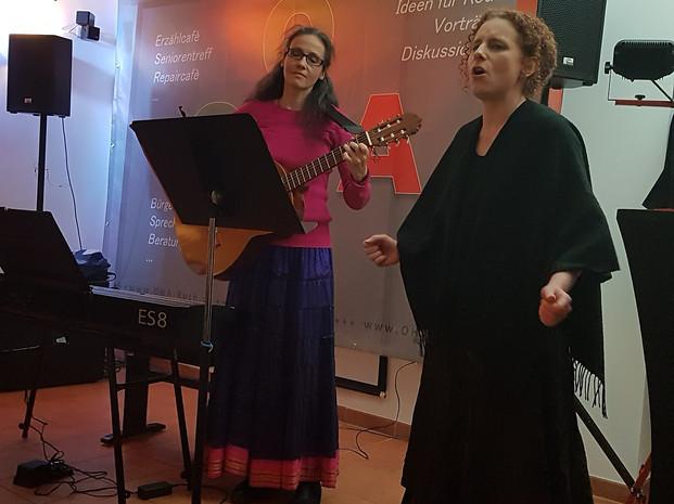 Brot und Rosen, 2019 mit Angela Rudolf