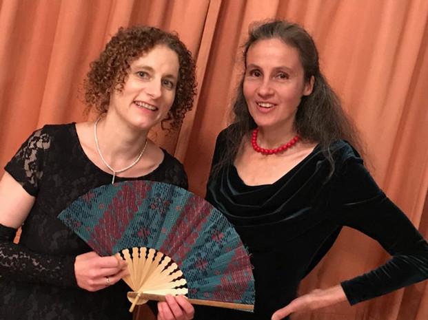 AbendRoth Moulin Rouge 2019 mit Angela Rudolf