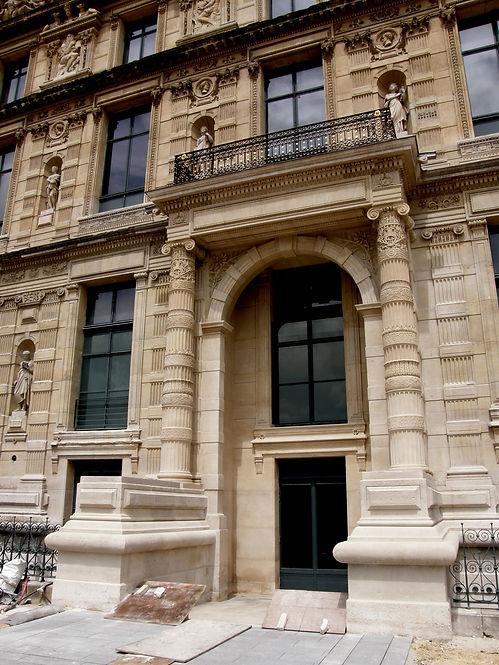 Sculpture, Monuments Historiques, Musée des art décoratifs, LOUVRE, architecte Goutal, atelier ROMEL