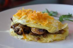 Mushrooms Omelette