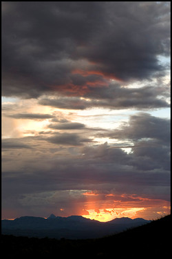 Green Valley sunset 1