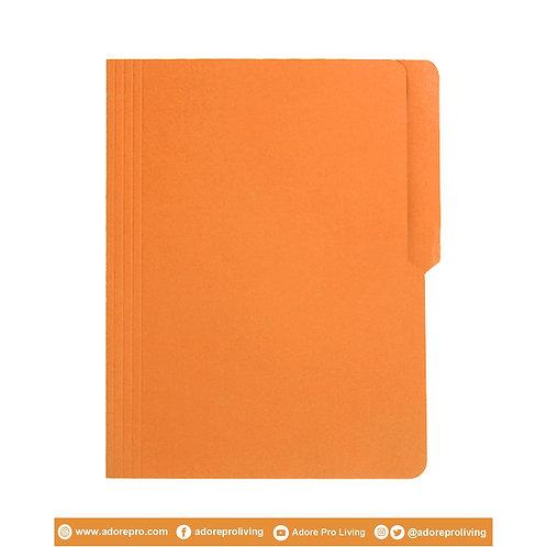 Colored Folder / 11 Pts / Letter / Orange