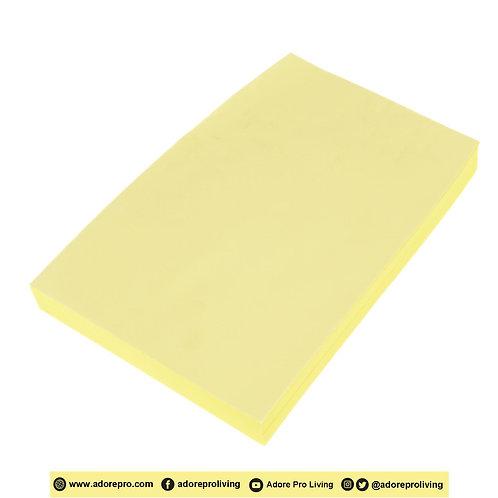 BOND YELLOW Paper 60 Gsm / S-16 / Long