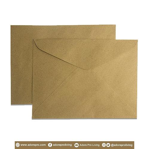 Document Envelope 150LBS Brown Short / 10 pack