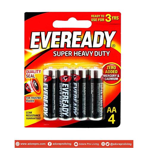Eveready Battery 1215BP4 / AA / 4pcs per pack