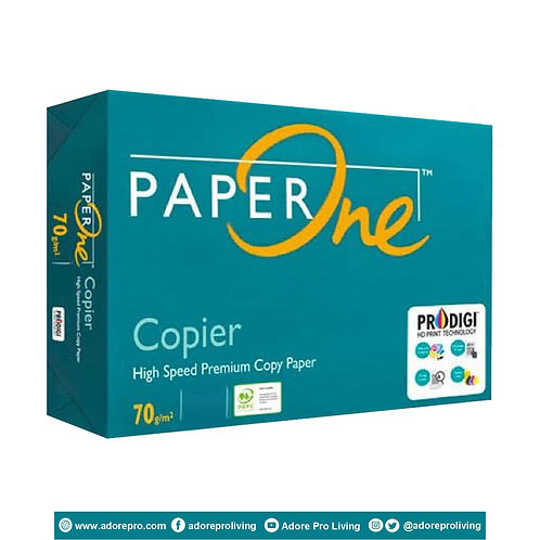 Paper One Copy Paper / 70 GSM / S-24 / A3 / White