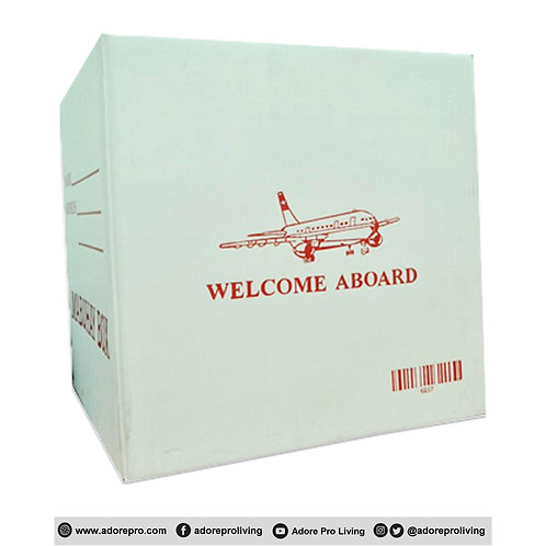 Balikbayan Box / 200LBS / 20 X 20 X 20 / White