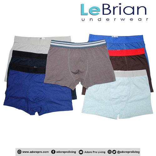 Men's Cotton Stretch Boxers Plain