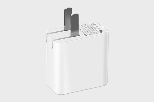 Mi 2-Port Travel Wall Charger with Foldable Plug