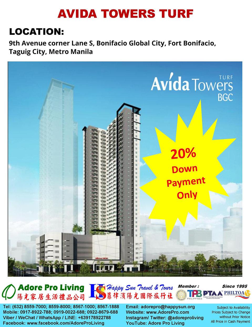 Ayala_AvidaTower_Turf_BGC_1BR+1T&B_Web_2