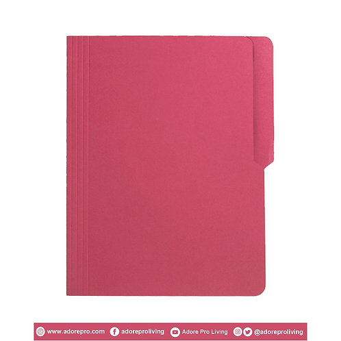 Colored Folder / 11 Pts / Letter / Pink