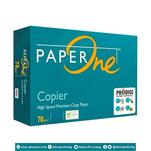 Paper One Copy Paper / 70 GSM / S-24 / Letter / White