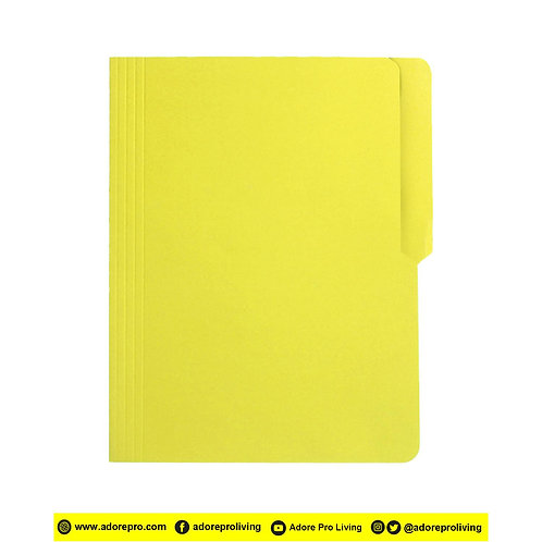 Colored Folder / 11 Pts / Letter / Yellow