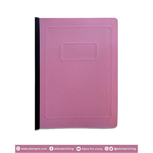 Morroco Folder with Slide / Short / Pink