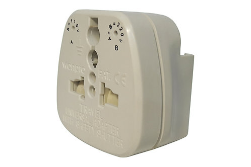 WonPro Universal Multi Plug Travel Adapter with Mini Pouch