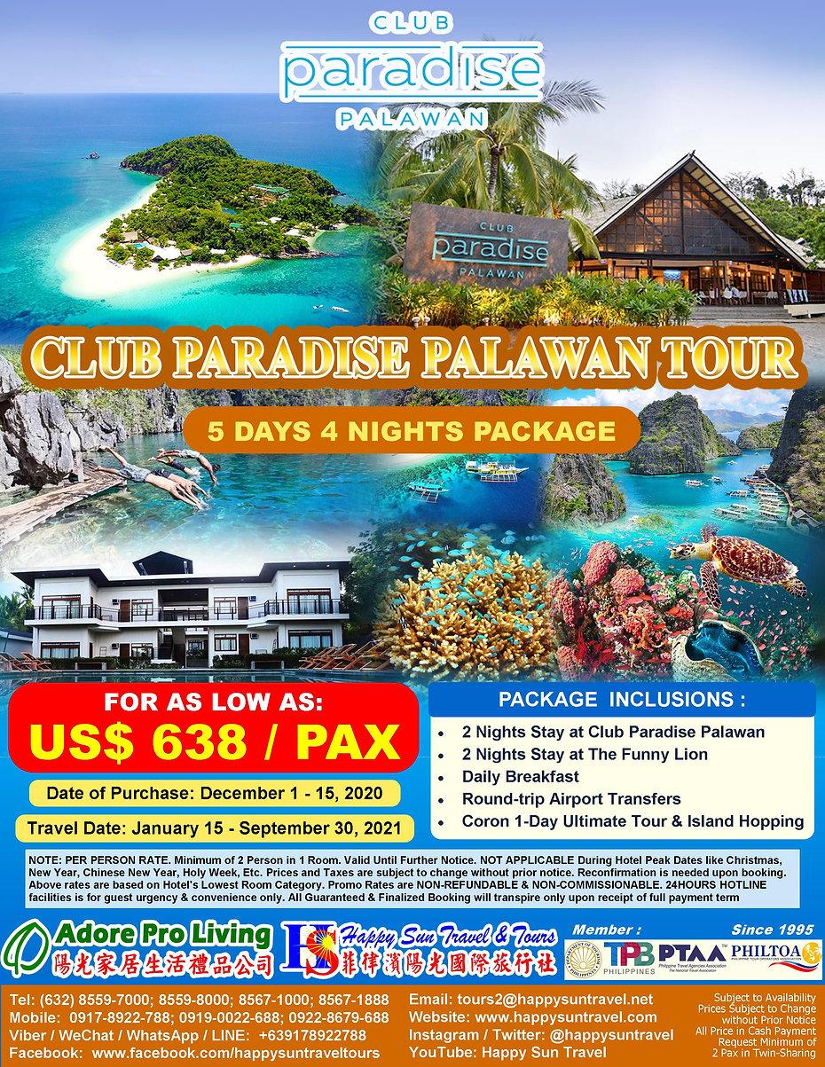 US$638_5D4NClubParadisePalawanPkg+CoronU