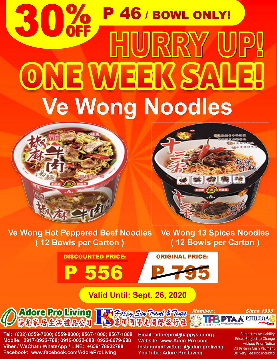 PHP556Only_30%Off_1WSale_VeWongBowlNoodl