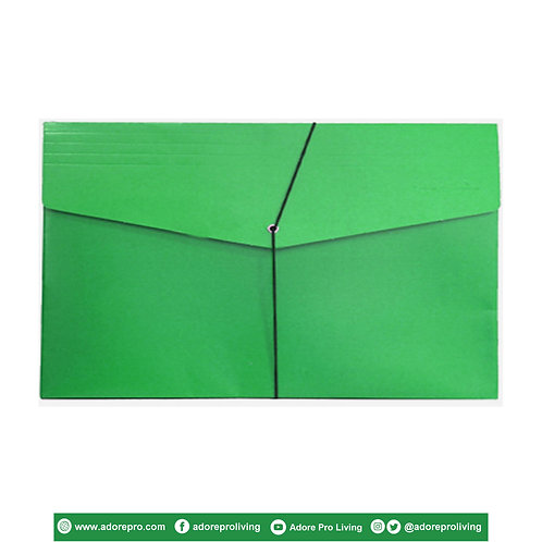 Envelope with Garter / Legal / Green