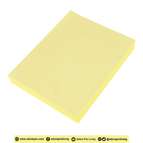 BOND YELLOW Paper 60 Gsm / S-16 / Letter