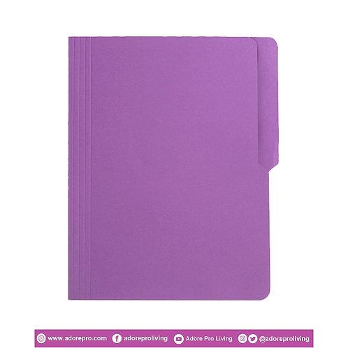 Colored Folder / 11 Pts / Letter / Violet