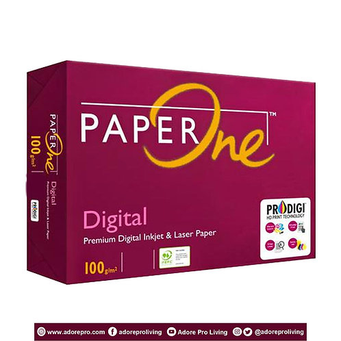 Paper One Copy Paper / 100 GSM / S-24 / A3 / White