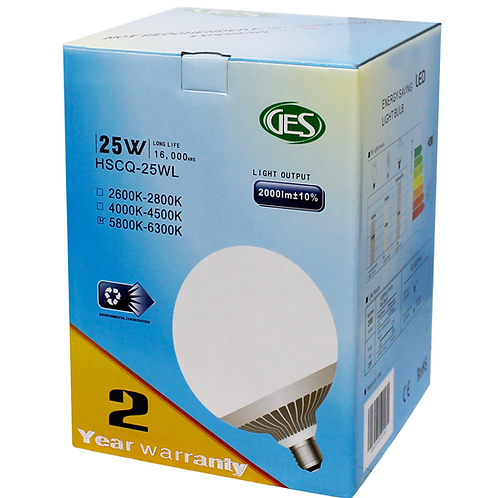 GES LED Residential Bulbs HSCQ - 25WL