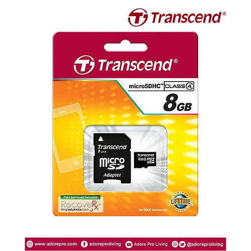 Transcend Micro SD Memory Card / 8GB