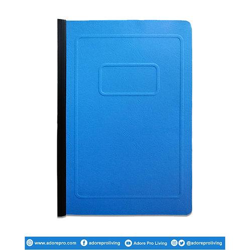 Morroco Folder with Slide / Long / Blue