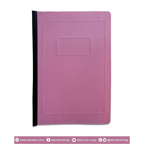 Morroco Folder with Slide / Long / Pink