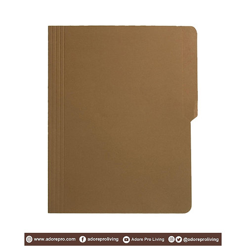 Colored Folder / 11 Pts / Letter / Brown
