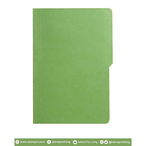 Colored Folder / 11 Pts / Legal / Green