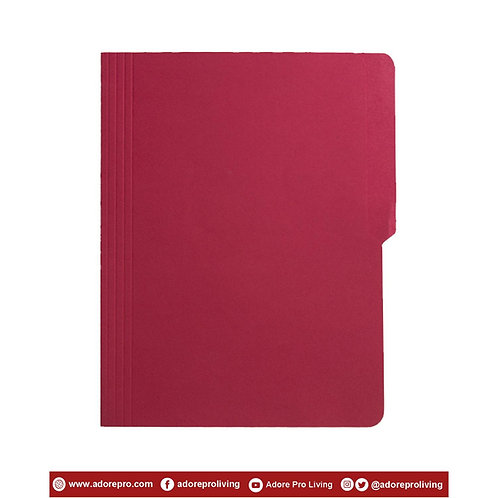 Colored Folder / 11 Pts / Letter / Red