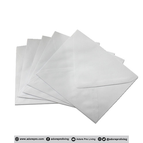White Envelope # 6-3/4 - 10 / pack