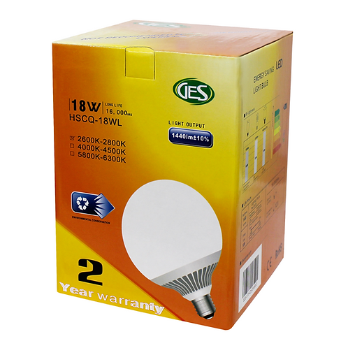 GES LED Residential Bulbs HSCQ - 18WL