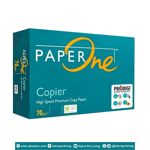 Paper One Copy Paper / 70 GSM / S-24 / Long / White
